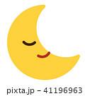 月 顔 マーク(星無し) 41196963