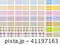 チェックのパターンフレーム 41197163