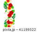 花 ハイビスカス トロピカルのイラスト 41199322