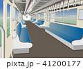 電車 車内 乗り物のイラスト 41200177