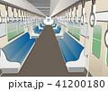 電車 車内 乗り物のイラスト 41200180