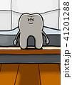 窓際に立つ歯 41201288