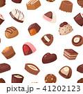 ショコラ チョコレート お菓子のイラスト 41202123