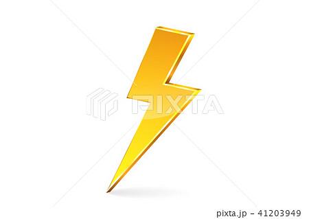 雷のイラスト素材 41203949