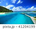 沖縄 慶良間諸島 海の写真 41204199