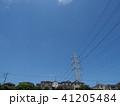 電線のある風景 41205484