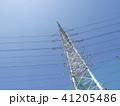 電線のある風景 41205486