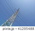 電線のある風景 41205488