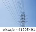 電線のある風景 41205491
