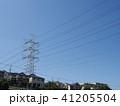 電線のある風景 41205504