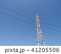 電線のある風景 41205506