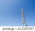 電線のある風景 41205507
