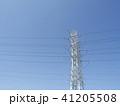 電線のある風景 41205508