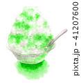 かき氷 デザート 氷菓のイラスト 41207600