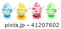 かき氷 デザート 氷菓のイラスト 41207602