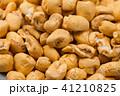 Roasted soft corn snack isolated on white 41210825