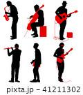 音楽 ミュージカル 楽器のイラスト 41211302