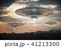 空飛ぶ円盤 宇宙船 SFのイラスト 41213300