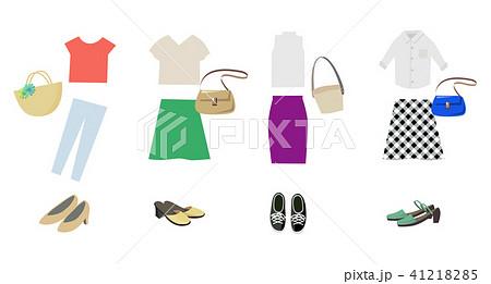 女性 夏服 ファッション 41218285