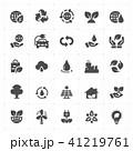 Icon set - environment filled icon  41219761