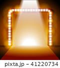 ステージ 舞台 ライトのイラスト 41220734