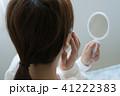 女性 鏡 ミラーの写真 41222383