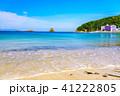外浦海水浴場 海 海岸の写真 41222805