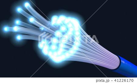 optical fiber cable or fiber optics 41226170