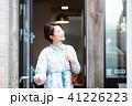 カフェ 喫茶店 女性の写真 41226223