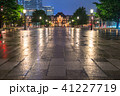 東京駅 丸の内駅舎 雨天の写真 41227719