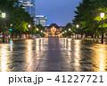 東京駅 丸の内駅舎 雨天の写真 41227721