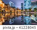 東京駅 丸の内駅舎 雨の写真 41228045