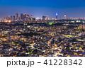 東京都 夜景 都市風景の写真 41228342