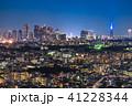 東京都 夜景 都市風景の写真 41228344