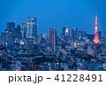 東京都 東京タワー 夜景の写真 41228491