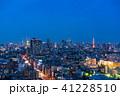 東京都 夜景 都市風景の写真 41228510