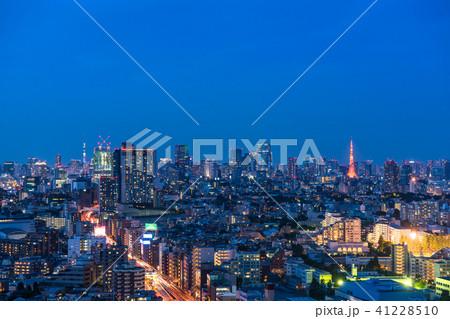 《東京都》東京トワイライト夜景 41228510