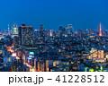 東京都 東京タワー 夜景の写真 41228512