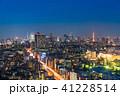 東京都 夜景 都市風景の写真 41228514