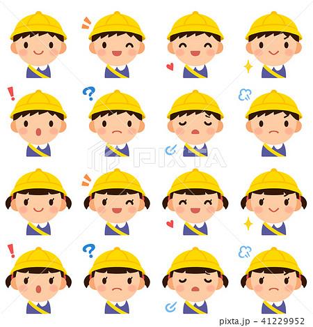 幼稚園 男の子女の子 顔 表情 かわいい フラット アイコン セット 41229952