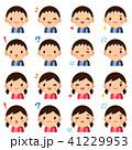 ベクター セット 表情のイラスト 41229953