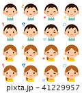 ベクター セット 表情のイラスト 41229957