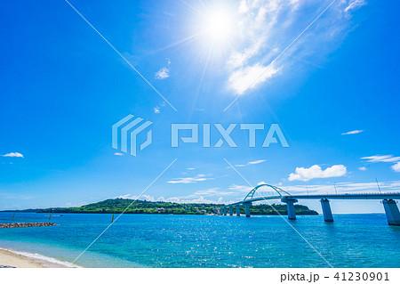 【沖縄県】瀬底大橋 41230901