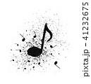 ミュージック 譜面 音楽のイラスト 41232675