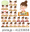 Bun hair mom Pants style_Meal 41233658