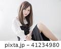 ヘアスタイル 女性 女の子の写真 41234980