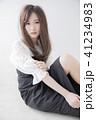 ヘアスタイル 女性 女の子の写真 41234983