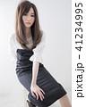 ヘアスタイル 女性 女の子の写真 41234995