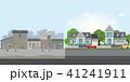 スラム街 貧困 住宅のイラスト 41241911