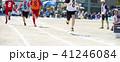 人物 走る 子供の写真 41246084